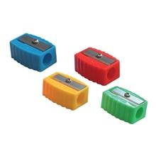 รูปภาพของ กบเหลาดินสอพลาสติกตราม้า H-002 คละสี