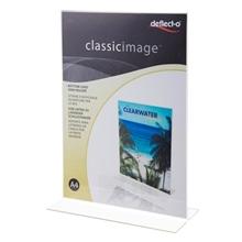 รูปภาพของ ป้ายใส่โบรชัวร์ ดีเฟลคโต้ ทรงT 47801-TL A4