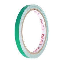 รูปภาพของ เทปพีวีซี ตีเส้น นูโว 9mm.x 9y สีเขียวแก่