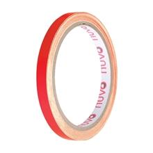 รูปภาพของ เทปพีวีซี ตีเส้น นูโว 9mm.x 9y สีแดง