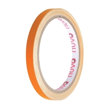 รูปภาพของ เทปพีวีซี ตีเส้น นูโว 9mm.x 9y สีส้ม