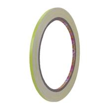 รูปภาพของ เทปPVCตีเส้นเนื้อเงา Croco 5มม. X 9y สีเหลืองสะท้อนแสง