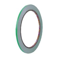รูปภาพของ เทปPVCตีเส้นเนื้อเงา Croco 5มม. X 9y สีเขียวสะท้อนแสง