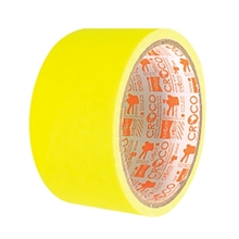 """รูปภาพของ เทปผ้าญี่ปุ่นสะท้อนแสง Croco 2""""x5y สีเหลือง"""