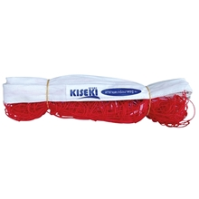 รูปภาพของ ตาข่ายเซปักตะกร้อ KISEKI ชนิดฝึกซ้อม (ไม่มีลวด) สีแดง