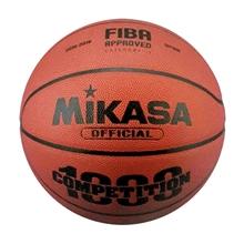 รูปภาพของ ลูกบาสเกตบอลหนัง PU (FIBA Approved) MIKASA รุ่น BQC1000 เบอร์ 6 สีส้ม