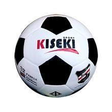 รูปภาพของ ลูกฟุตบอลหนังอัด PVC KISEKI เบอร์ 3 สีขาว/ดำ