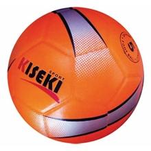 รูปภาพของ ลูกฟุตบอลหนังอัด PVC KISEKI เบอร์ 5 สีส้มสะท้อนแสง