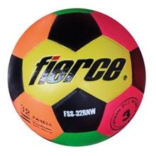 รูปภาพของ ลูกฟุตบอลหนังอัด PVC fierce เบอร์ 3 (Rainbow) สลับสี