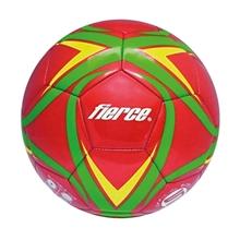 รูปภาพของ ลูกฟุตบอลหนังเย็บ fierce รุ่น MS PVC S5 Metal Red เบอร์ 5 สีแดง