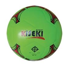 รูปภาพของ ลูกฟุตซอลหนังอัด PVC KISEKI เบอร์ 3.7 (สะท้อนแสง) สีเขียว
