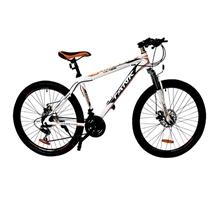 รูปภาพของ จักรยานเสือภูเขา TANK รุ่น TK-426 ขนาด 26 นิ้ว สีขาว/ส้ม