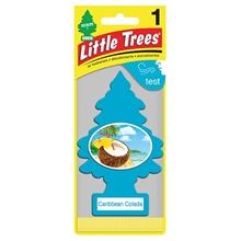 รูปภาพของ แผ่นน้ำหอมปรับอากาศ Little Trees กลิ่น Caribbean Colada