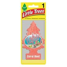 รูปภาพของ แผ่นน้ำหอมปรับอากาศ Little Trees กลิ่น Coral Reef