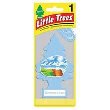 รูปภาพของ แผ่นน้ำหอมปรับอากาศ Little Trees กลิ่น Summer Linen