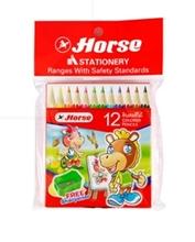 รูปภาพของ ดินสอสีไม้ H-500 12สี (กล่อง12แท่ง)