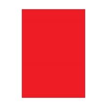 รูปภาพของ กระดาษสีโปสเตอร์อ่อน 2 หน้า สีแดง 50x70ซม.