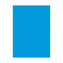 รูปภาพของ กระดาษสีโปสเตอร์อ่อน 2 หน้า สีฟ้า 50x70ซม.