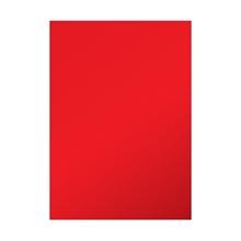 รูปภาพของ ป้ายสติกเกอร์ พีวีซี ชนิดแผ่น 53x70ซม. สีแดง