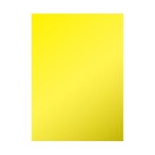 รูปภาพของ แผ่นสติ๊กเกอร์พีวีซี 53X70 เซนติเมตรสีเหลือง