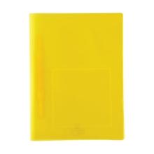 รูปภาพของ แฟ้มเจาะพลาสติก ฟลามิงโก้ 952A A4 เหลือง