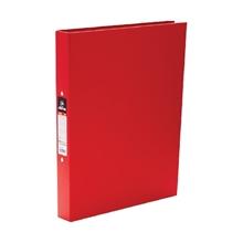 รูปภาพของ แฟ้ม 2 ห่วง ตราม้า H-335 A4 ขนาดห่วง 25 มม. สีแดง