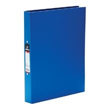 รูปภาพของ แฟ้ม 2 ห่วง ตราม้า H-335 A4 ขนาดห่วง 25 มม. สีน้ำเงิน