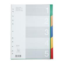 รูปภาพของ อินเด็กซ์พลาสติก ฟลามิงโก้ 9532A-5(1-5 หยัก) คละสี