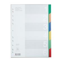 รูปภาพของ อินเด็กซ์พลาสติก ฟลามิงโก้ 9532A-6(1-6 หยัก) คละสี