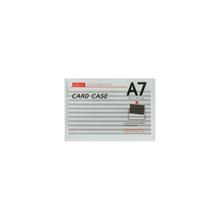 รูปภาพของ ซองเอกสารพลาสติกแข็ง ออร์ก้า PVC สีใส ขนาด A7