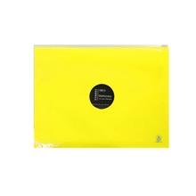 รูปภาพของ ซองซิปพลาสติก Orca รุ่น ZE-401 (ขยายข้าง) A4 สีเหลือง