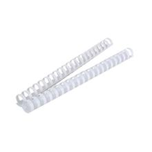 รูปภาพของ สันห่วงพลาสติกอิบีโก้ 19มม. สีขาว (แพ็ค10อัน)