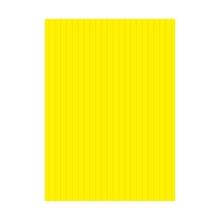 รูปภาพของ ฟิวเจอร์บอร์ด ขนาด 65x122 ซม. หนา 3 มม. สีเหลือง