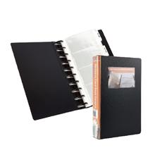 รูปภาพของ สมุดเก็บนามบัตรBindermax รุ่น 01048 สีดำ