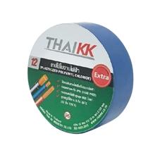 รูปภาพของ เทปพันสายไฟ THAIKK ขนาด 18 มม. x 10 ม. สีน้ำเงิน
