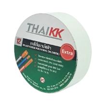 รูปภาพของ เทปพันสายไฟ THAIKK ขนาด 18 มม. x 10 ม. สีขาว