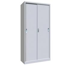 รูปภาพของ ตู้เอกสารเหล็กบานเลื่อน 5 ชั้น MET-Y02 สีเทาขาว