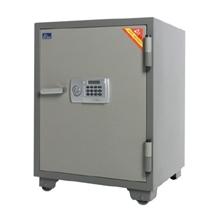 รูปภาพของ ตู้เซฟนิรภัย VITAL VT-100D รหัสอิเล็คทรอนิคส์ ขนาดกลาง สีเทา