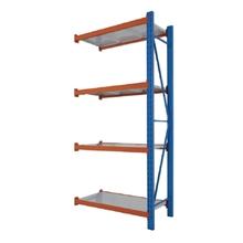 รูปภาพของ ชั้นเหล็กอเนกประสงค์ MAXSIS FY01-03 ชั้นต่อ 100x45x200ซม.  เสาสีน้ำเงิน คานสีส้ม แผ่นชั้นสีครีม
