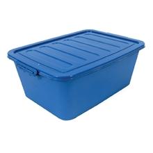 รูปภาพของ กล่องพลาสติกอเนกประสงค์แบบมีฝาปิดพร้อมหูล็อค 80L 80 ลิตร คละสี