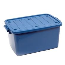 รูปภาพของ กล่องพลาสติกอเนกประสงค์แบบมีฝาปิดพร้อมหูล็อคและล้อ 100L 100 ลิตร คละสี