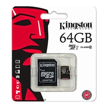 รูปภาพของ Kingston Micro SDHC SDC10G2 64 GB