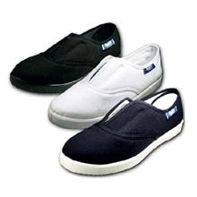 รูปภาพของ รองเท้าผ้าใบ BUDDY รุ่น AS-101 Size 40 สีดำ