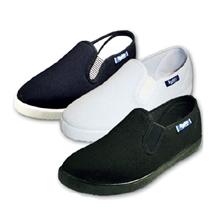 รูปภาพของ รองเท้าผ้าใบ BUDDY รุ่น AS-113 Size 39 สีดำ