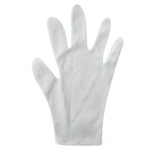 รูปภาพของ ถุงมือ TC ผ้าคอตตอนขาว แบบพับข้อ