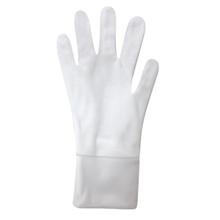 รูปภาพของ ถุงมือผ้า Poly (ถุงมือจราจร) แบบต่อข้อ สีขาว (แพ็ค 12 คู่)