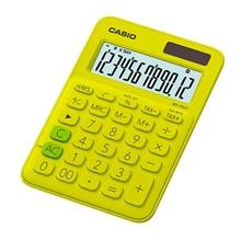 รูปภาพของ เครื่องคิดเลข คาสิโอ MS-20UC 12 หลัก เหลือง
