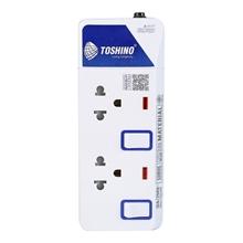 รูปภาพของ ปลั๊กไฟ TOSHINO ET-912 2 ช่อง 2 สวิทซ์ 3 เมตร (มอก.)