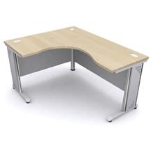 รูปภาพของ โต๊ะทำงาน MONO MT 5266 (R) เมเปิ้ล/เทา