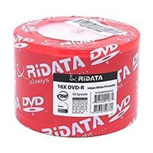 รูปภาพของ แผ่น DVD-R RiDATA 4.7GB 16X (แพ็ค 50 แผ่น)